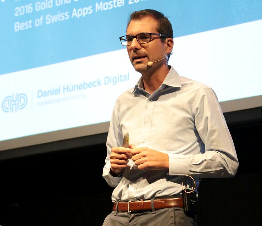 Keynote Speaker und Referent Digitalisierung - Daniel Hünebeck
